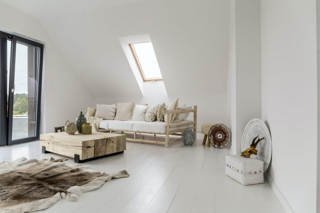 Servicios Empresas Habitación con muebles de madera